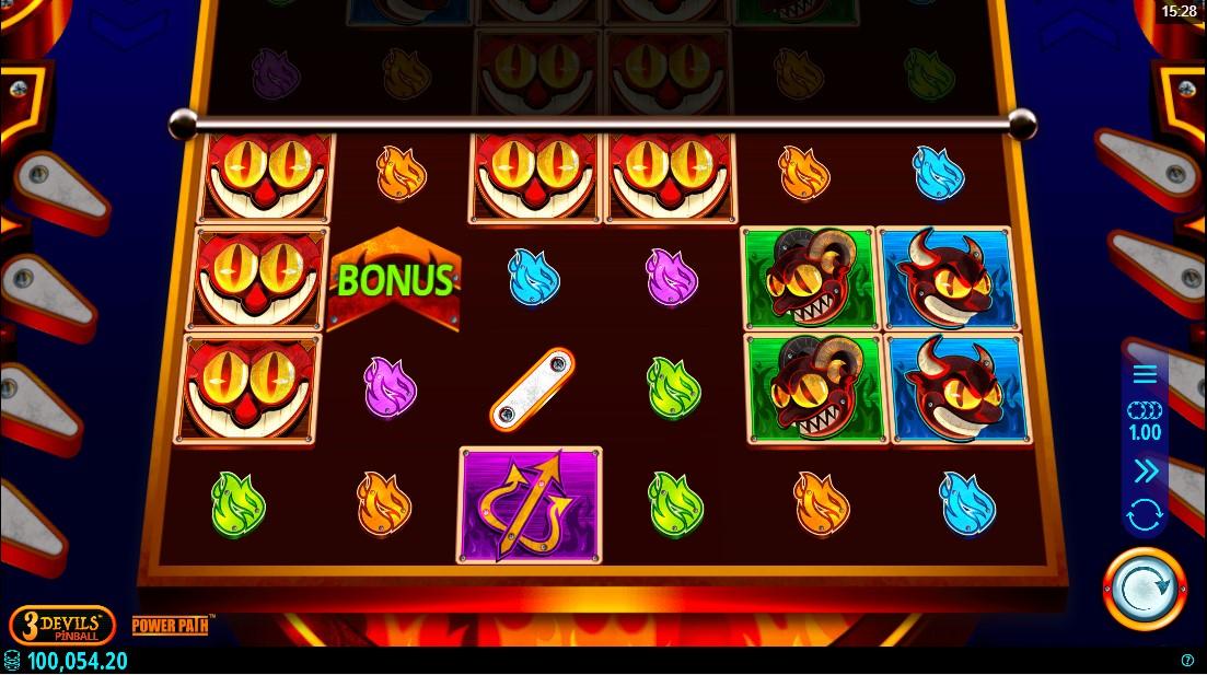 бесплатный слот 3 Devils Pinball