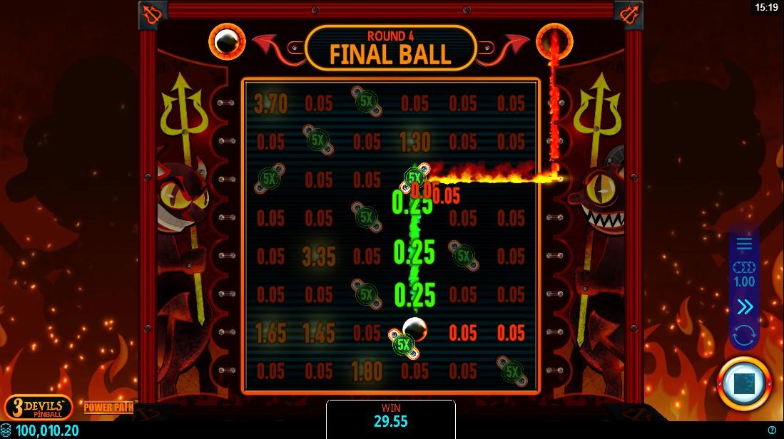 слот 3 Devils Pinball играть бесплатно