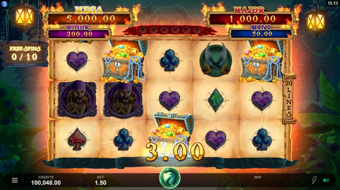 free slot Adventures of Doubloon Island