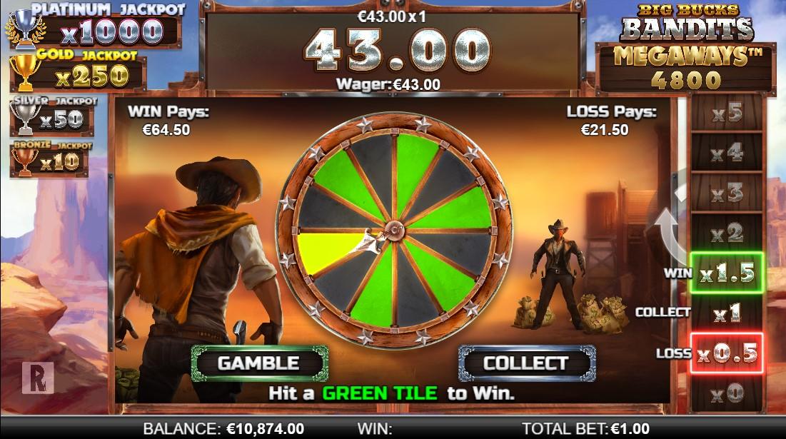 Big Bucks Bandits Megaways онлайн слот