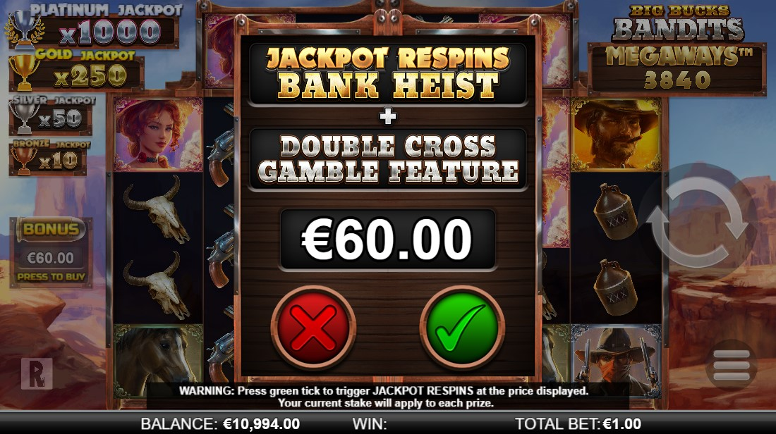 free slot Big Bucks Bandits Megaways