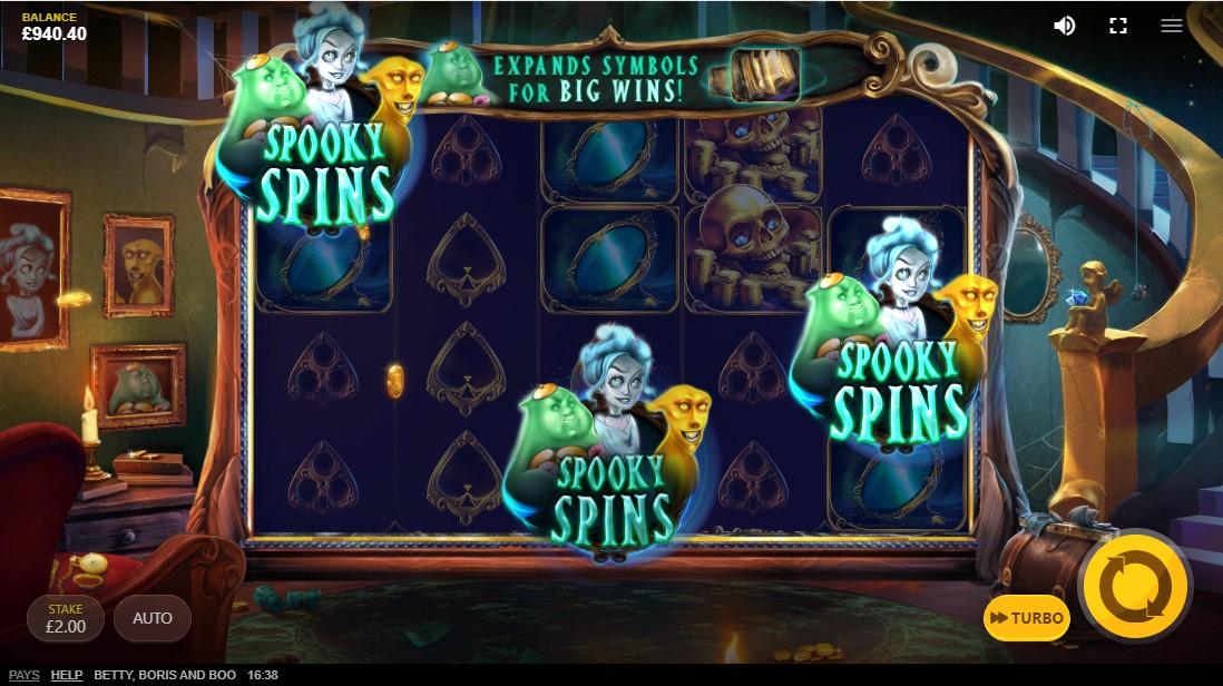 free slot Boris, Betty And Boo