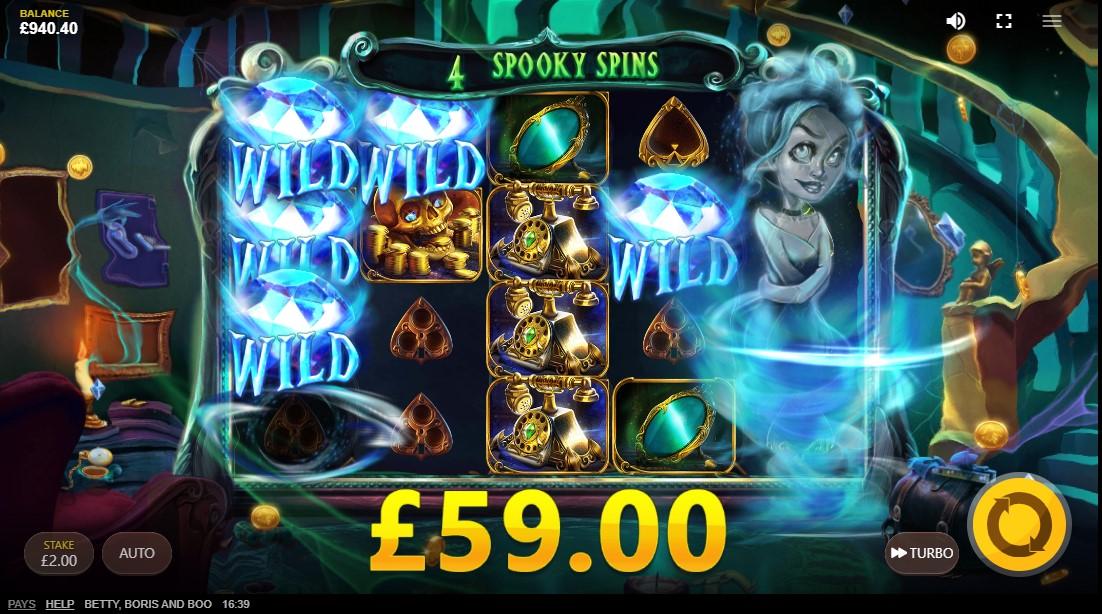 Boris, Betty And Boo free slot