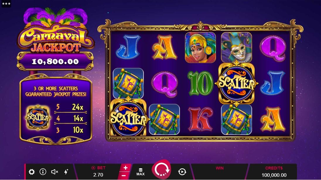 Carnaval Jackpot игровой автомат