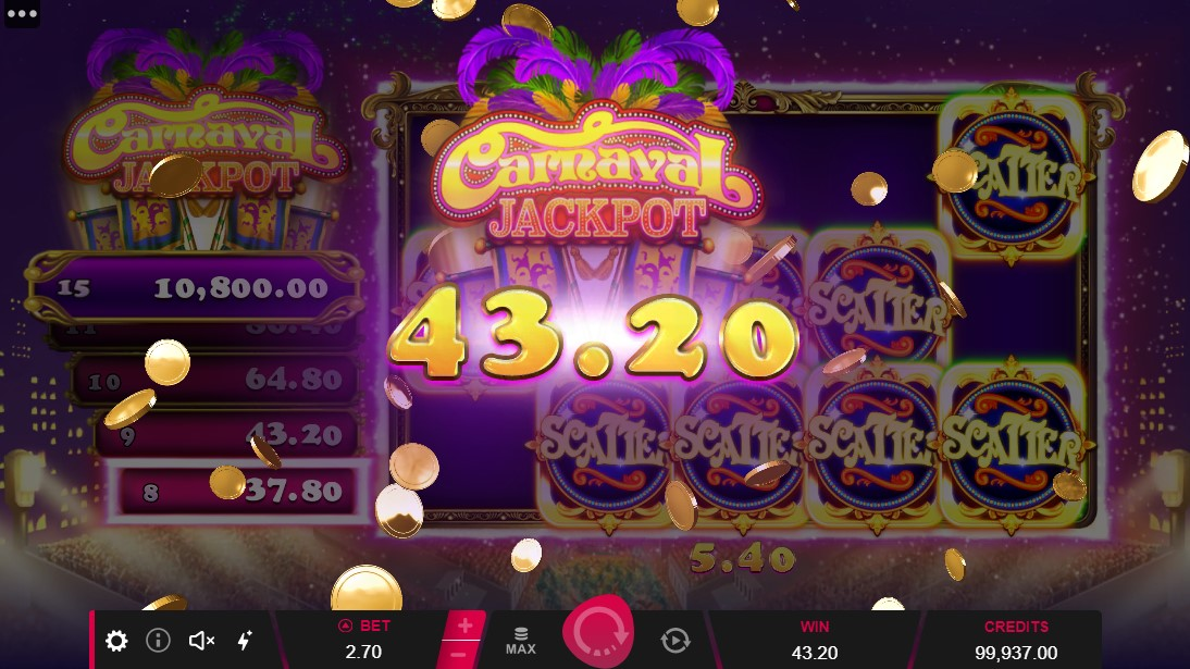 free slot Carnaval Jackpot