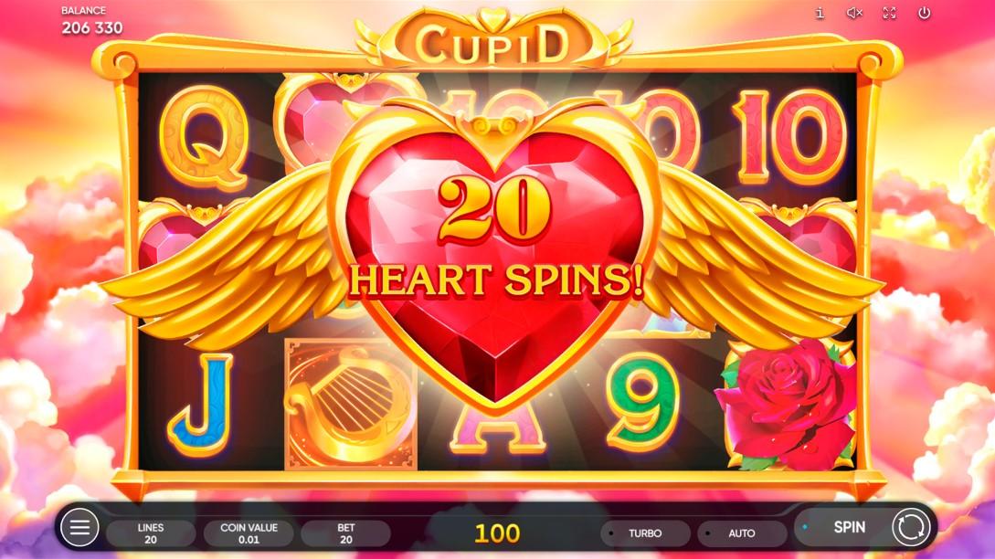 Cupid игровой автомат