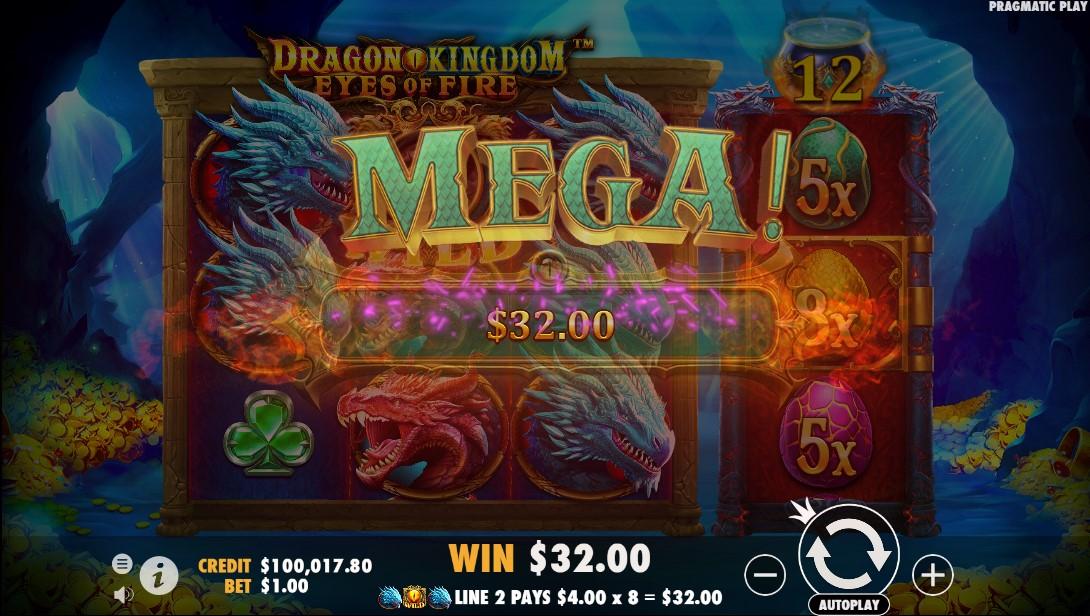 Dragon Kingdom – Eyes of Fire игровой автомат