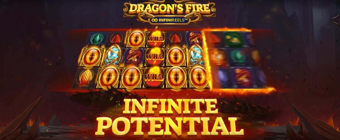 Играть Dragon's Fire Infinireels бесплатно
