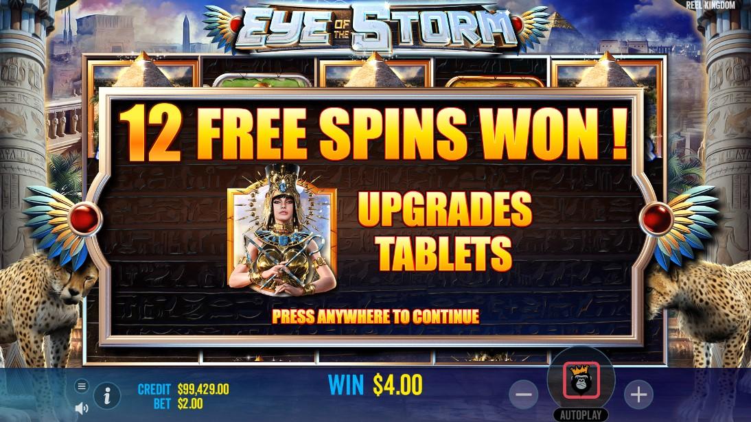 Eye of the Storm онлайн слот