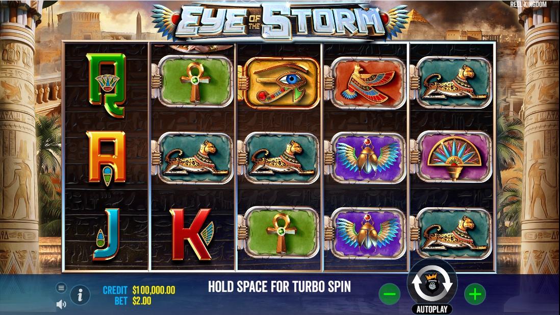 бесплатный слот Eye of the Storm