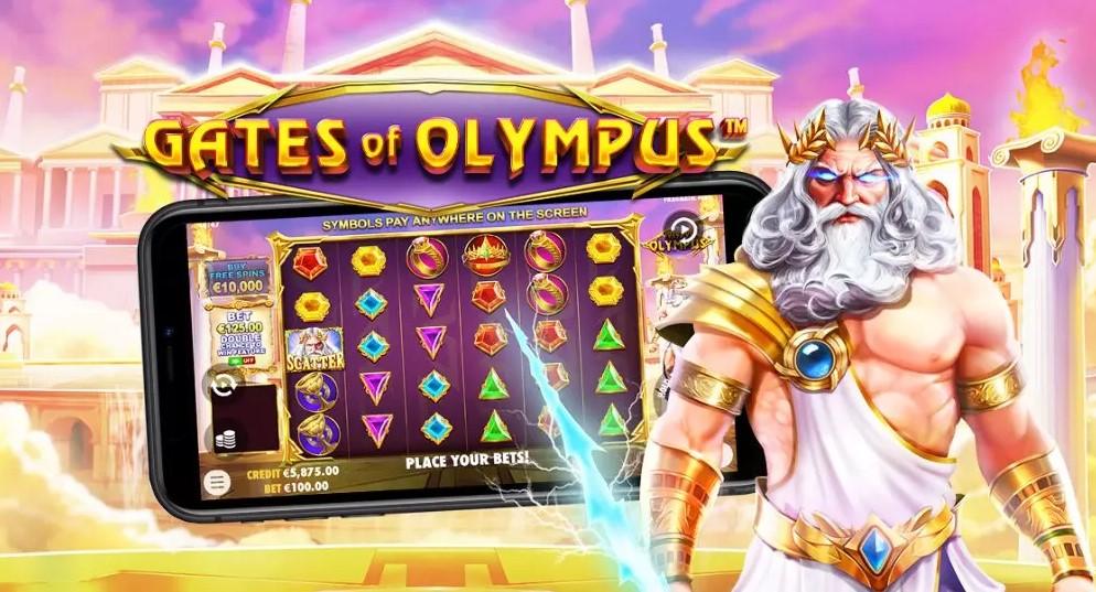 Играть Gates of Olympus бесплатно
