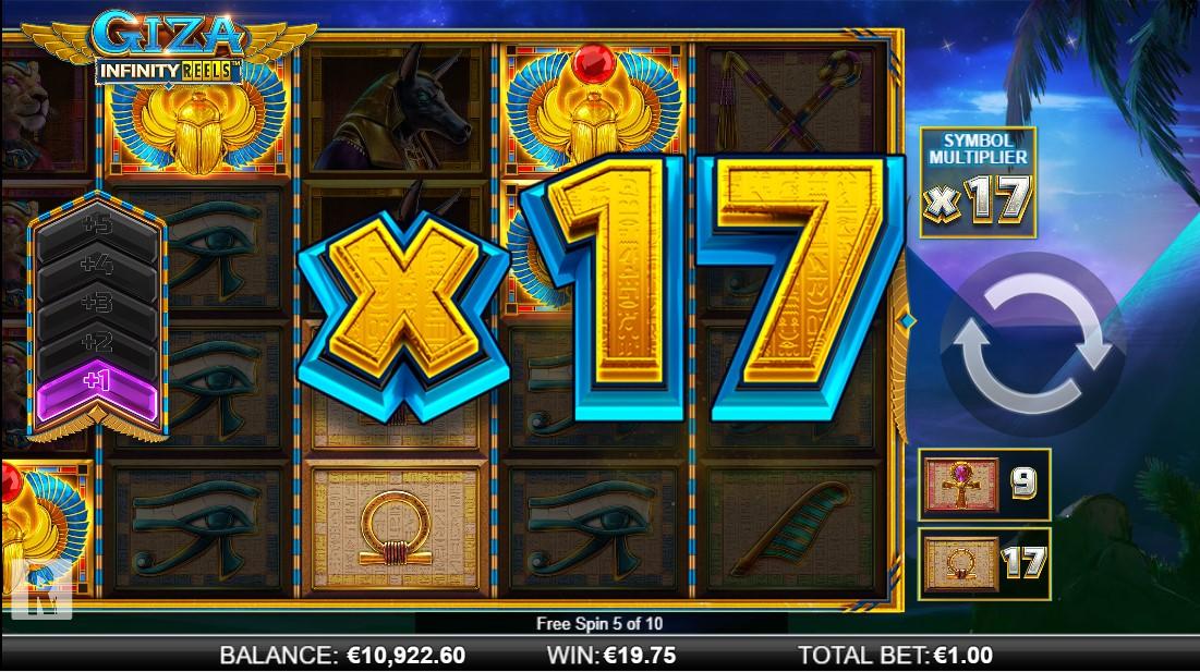 Giza Infinity Reels игровой автомат