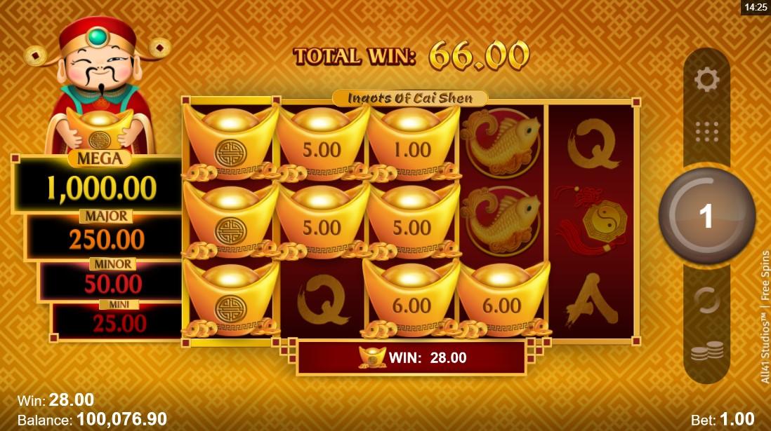 Ingots of Cai Shen игровой автомат