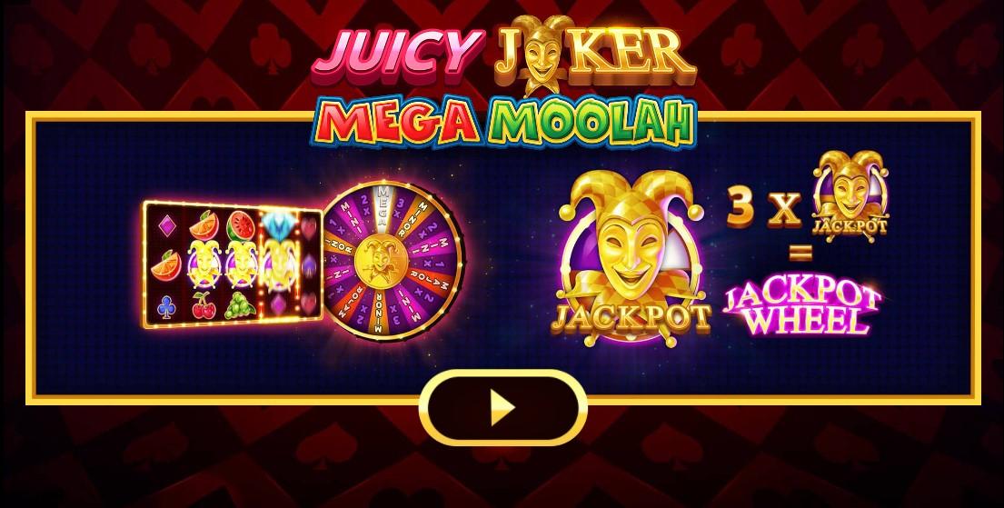 Играть Juicy Joker Mega Moolah бесплатно