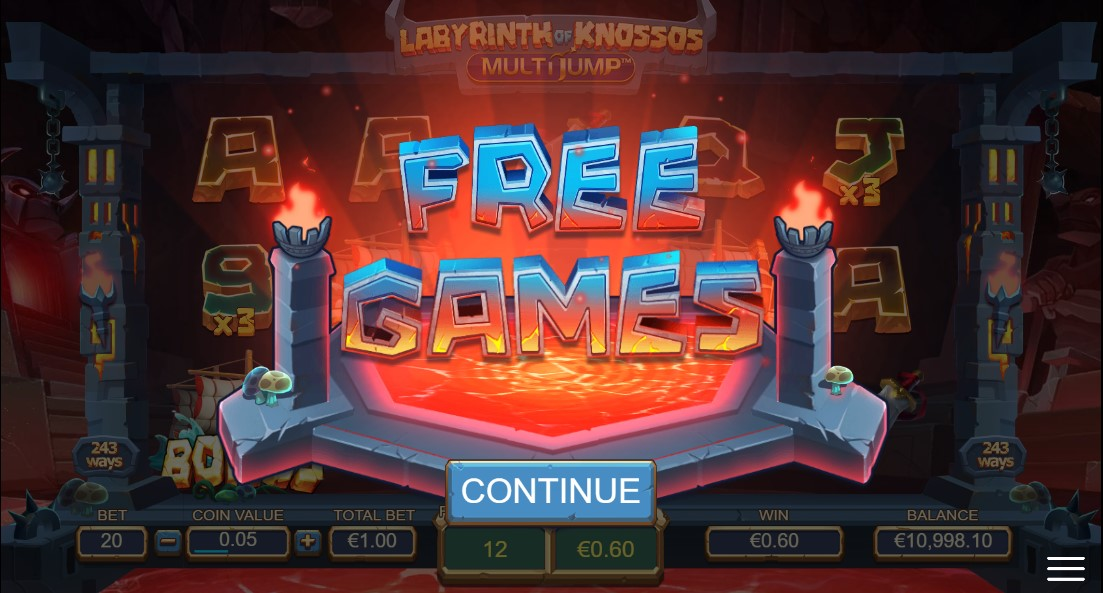 Labyrinth of Knossos Multijump онлайн слот