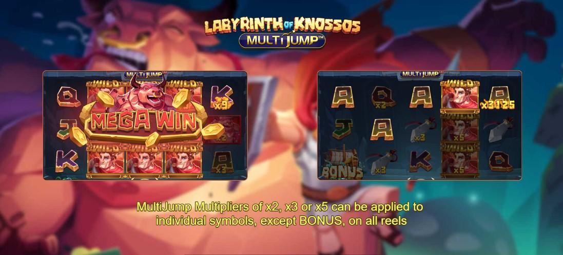 Играть Labyrinth of Knossos Multijump бесплатно