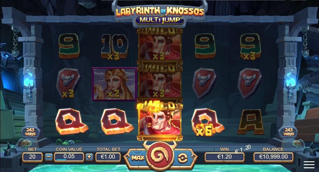free slot Labyrinth of Knossos Multijump