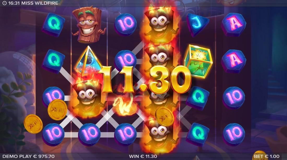 Miss Wildfire free slot