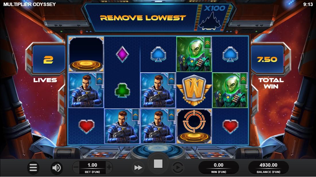 Multiplier Odyssey игровой автомат