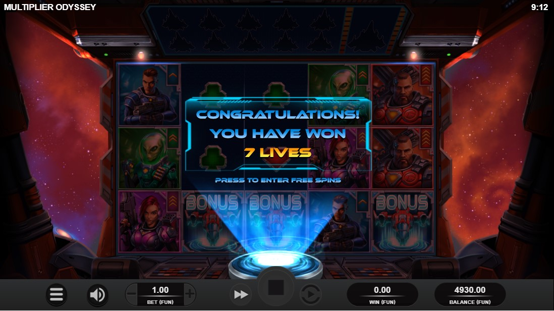 Multiplier Odyssey онлайн слот