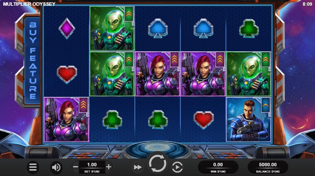 Multiplier Odyssey free slot