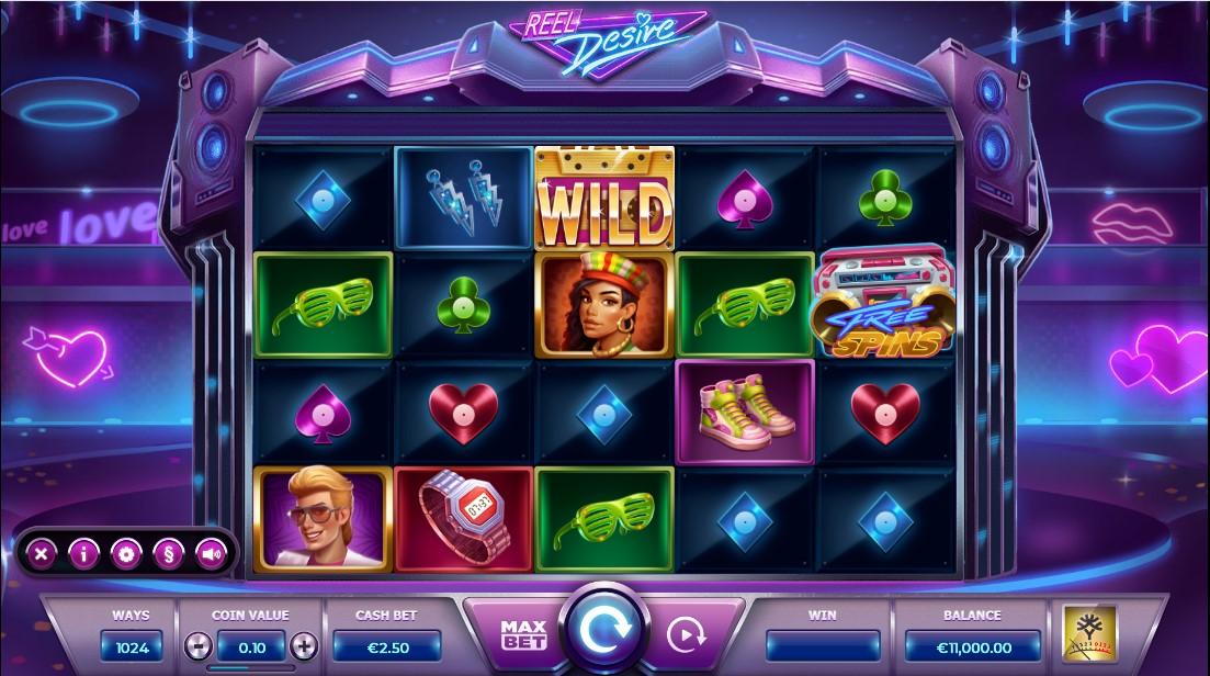 игровой автомат Reel Desire