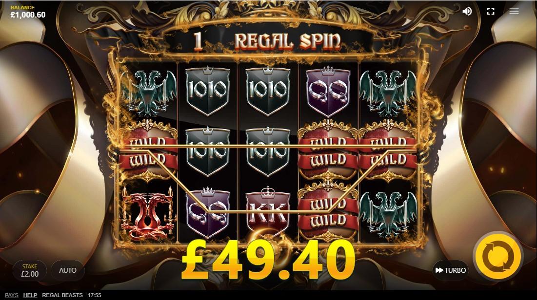 Regal Beasts игровой автомат