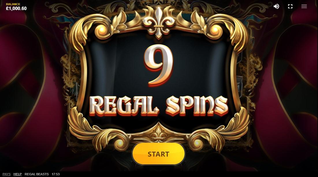 Regal Beasts онлайн слот