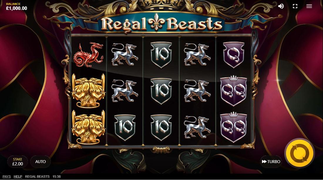 Regal Beasts бесплатный слот