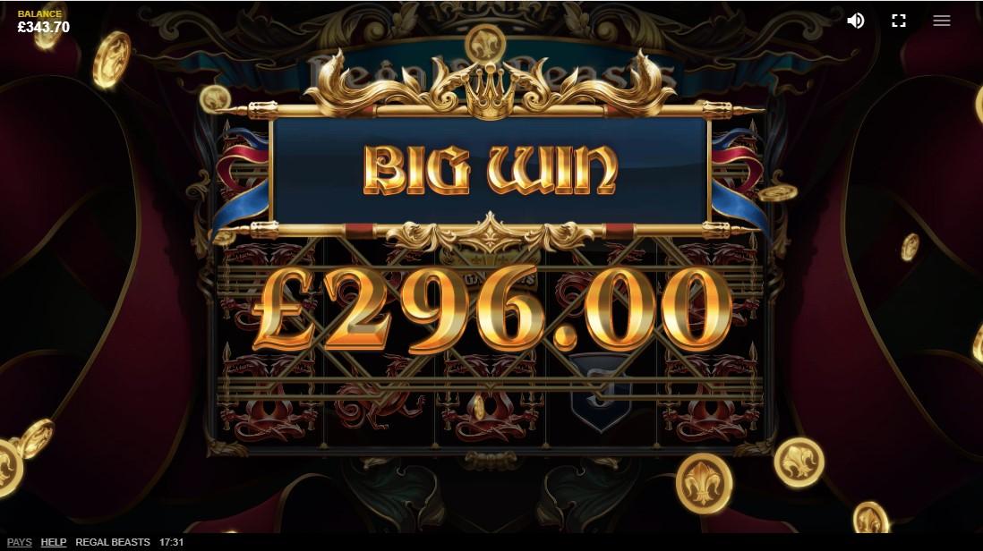 Regal Beasts free slot