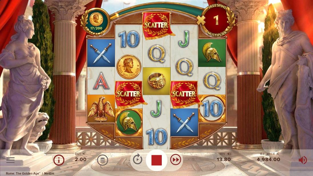 игровой автомат Rome The Golden Age