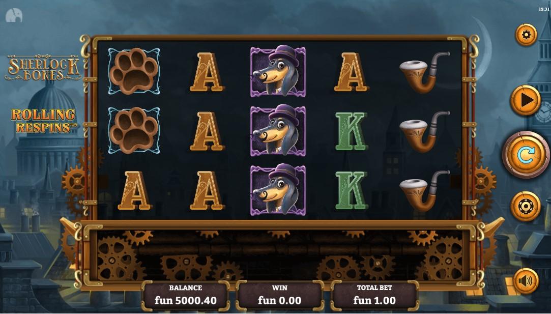 Sherlock Bones игровой автомат