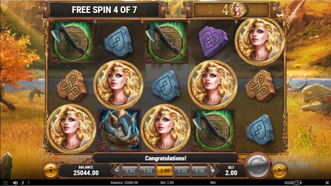 The Faces of Freya игровой автомат