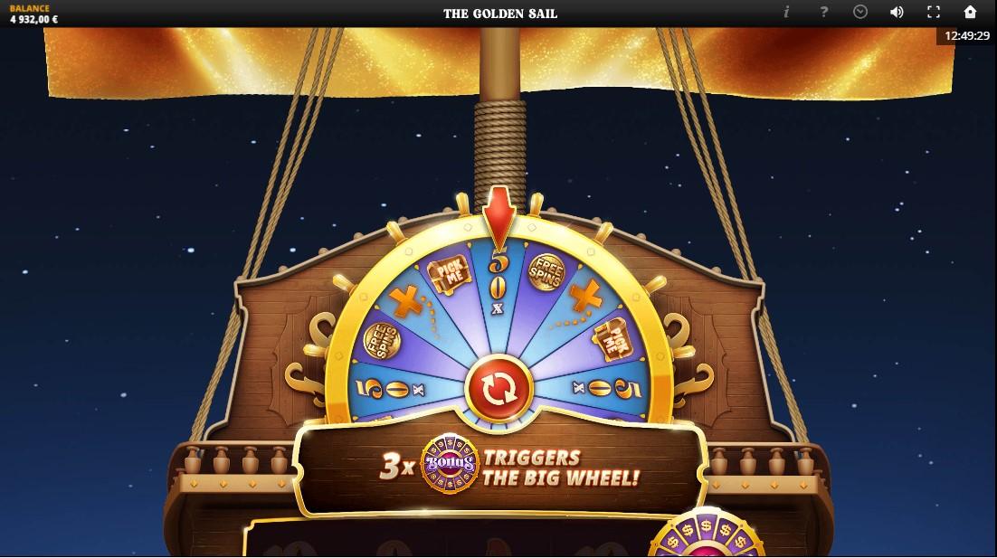 The Golden Sail игровой автомат