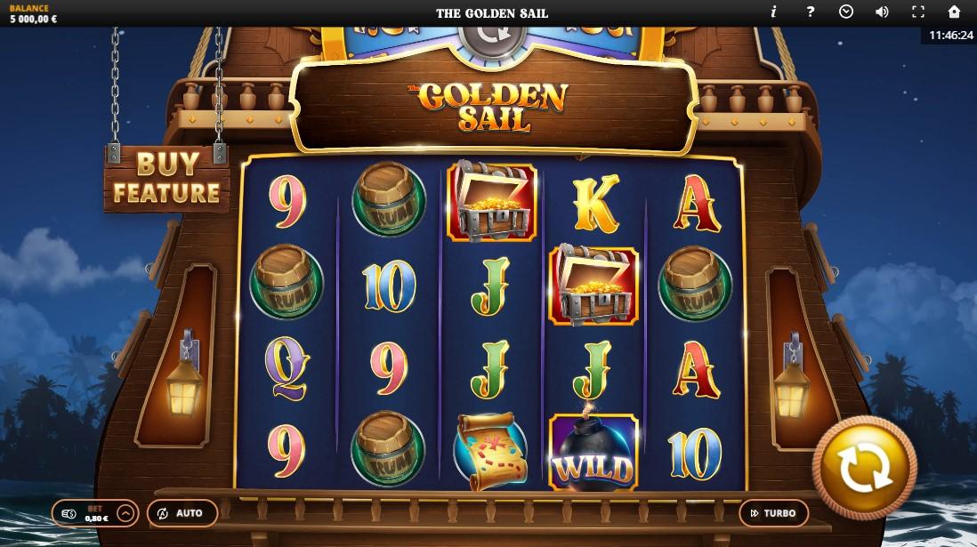 The Golden Sail бесплатный слот