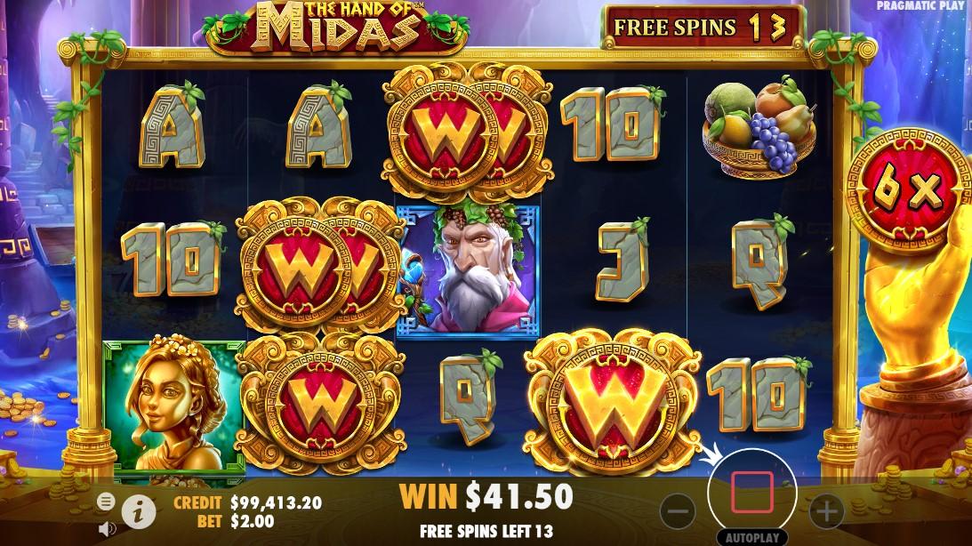 The Hand of Midas игровой автомат