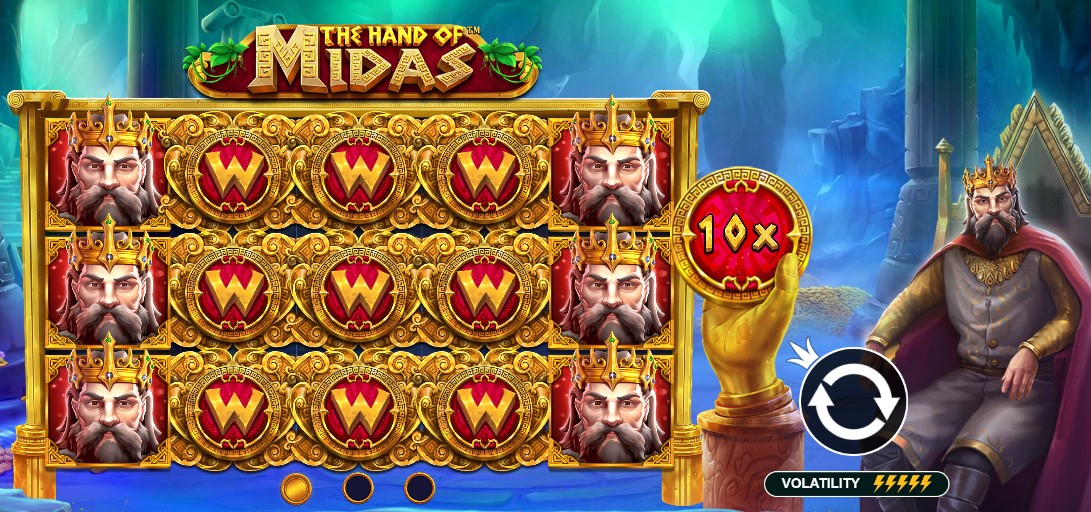 Играть The Hand of Midas бесплатно
