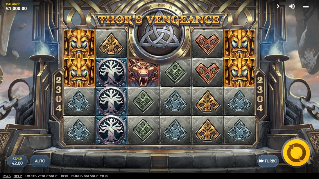 free slot Thors Vengeance