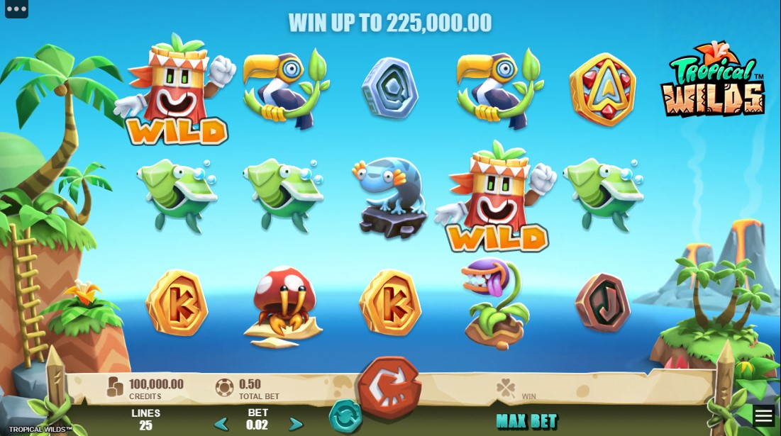 free slot Tropical Wilds