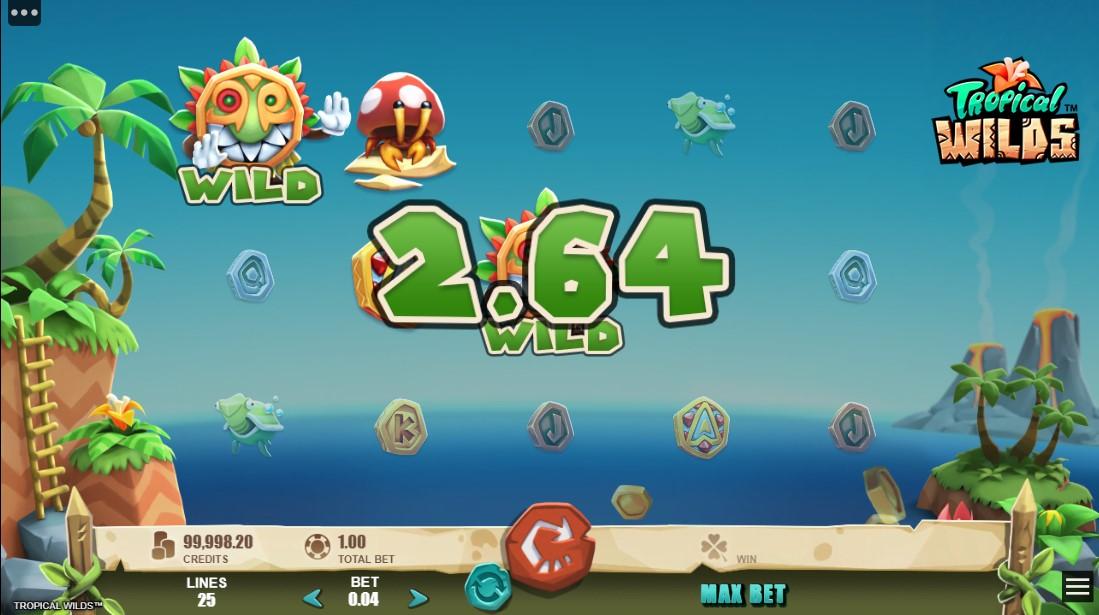 Tropical Wilds онлайн слот