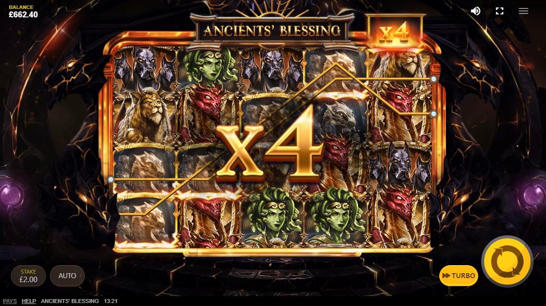 Ancients Blessing бесплатный слот