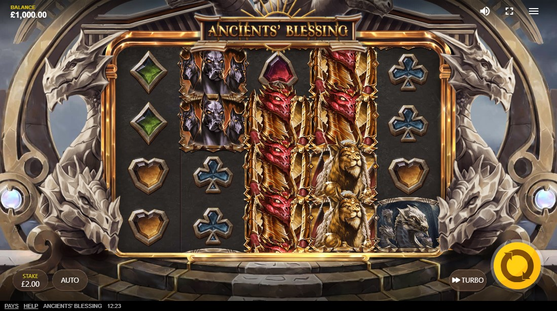 Ancients Blessing онлайн слот