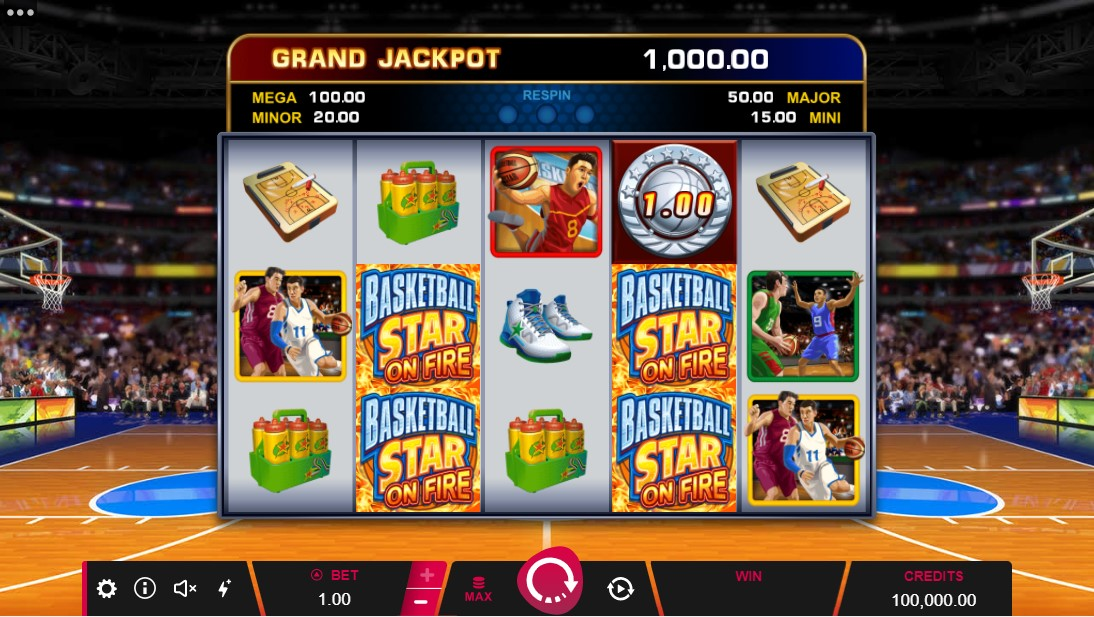 free slot Basketball Star On Fire