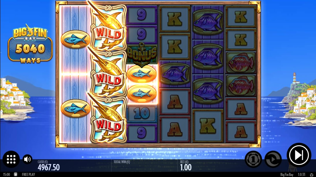 free slot Big Fin Bay