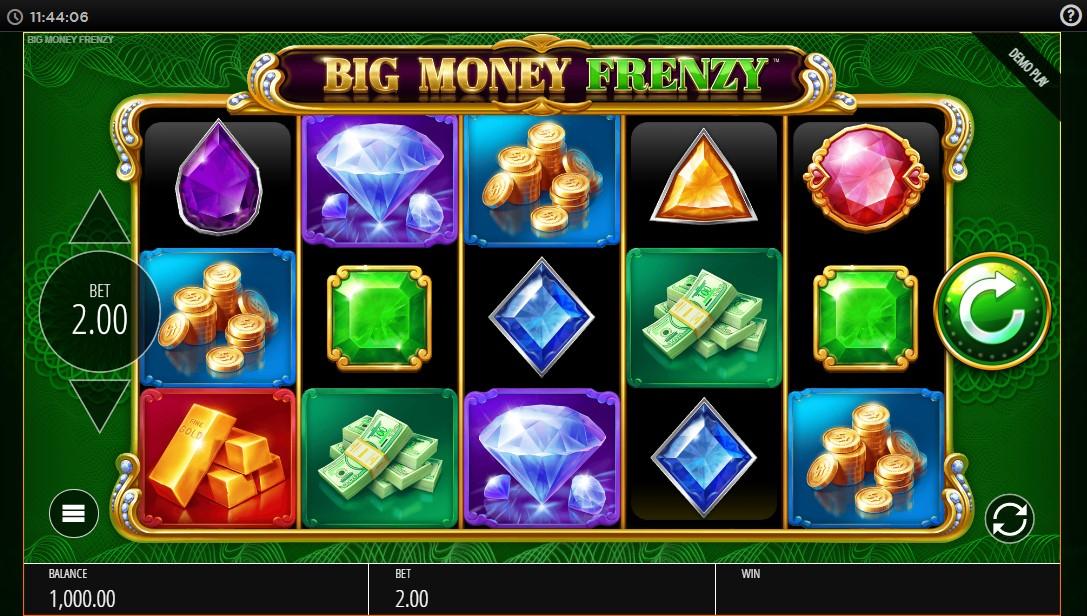 Big Money Frenzy онлайн слот