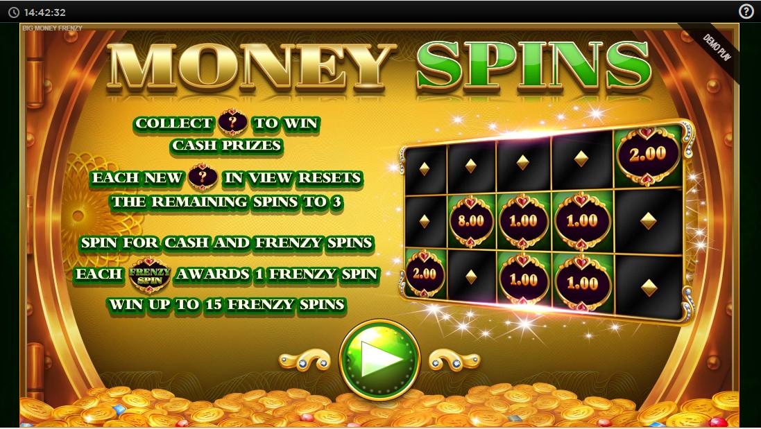 Big Money Frenzy игровой автомат