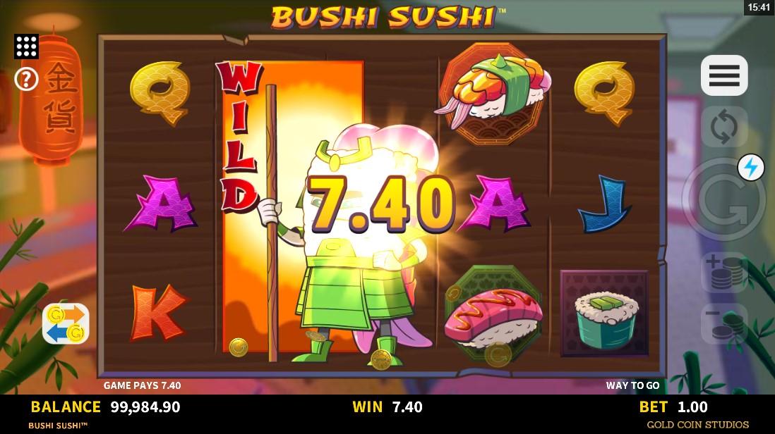 онлайн слот Bushi Sushi