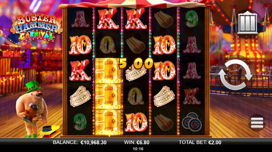 free slot Buster Hammer Carnival