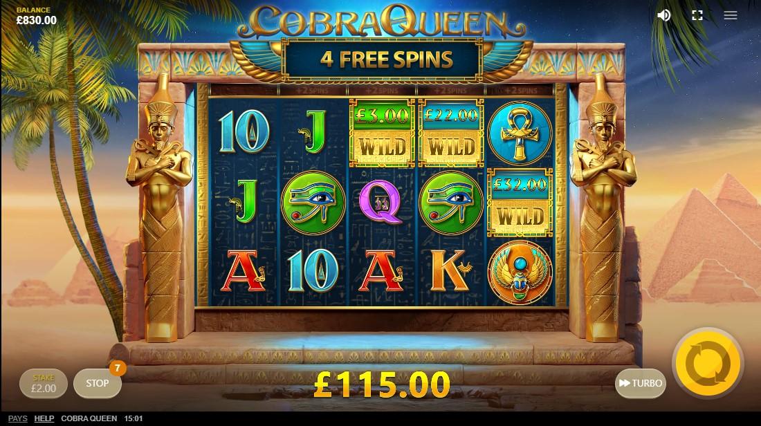 Cobra Queen игровой автомат