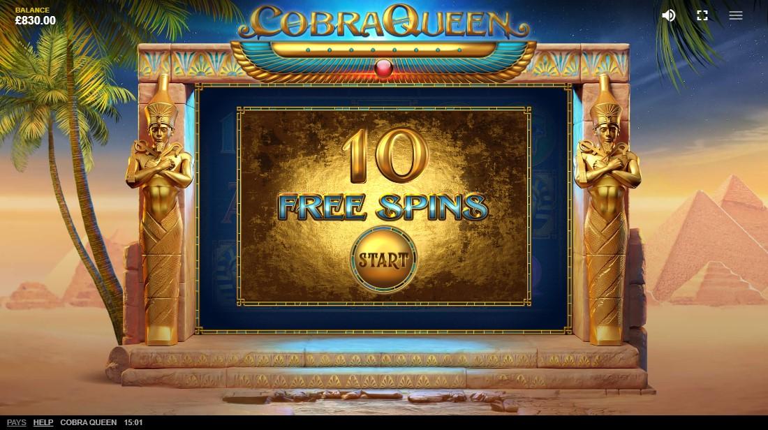 Cobra Queen онлайн слот